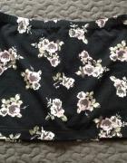 AMISU New Yorker spódnica spódniczka mini kwiaty rozm S 36 stan...