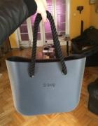 Nowe długie czarne liny do torebek obag