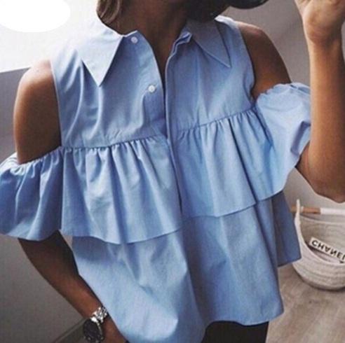 Zara Basic prześliczna koszula odkryte ramiona