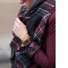 Zara accessories szal chusta ciepły 140x140 kolory