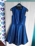 Nowa cudna kobaltowa niebieska sukienka EMG XS S M