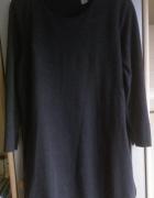 Szara sukienka tunika...