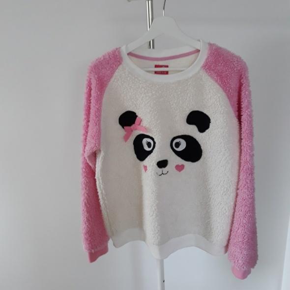 Włochata ciepła bluza Panda