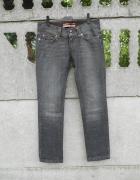 Grafitowe Spodnie 36 S M jeans ONLY