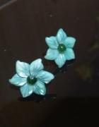 Zielone kwiatki...