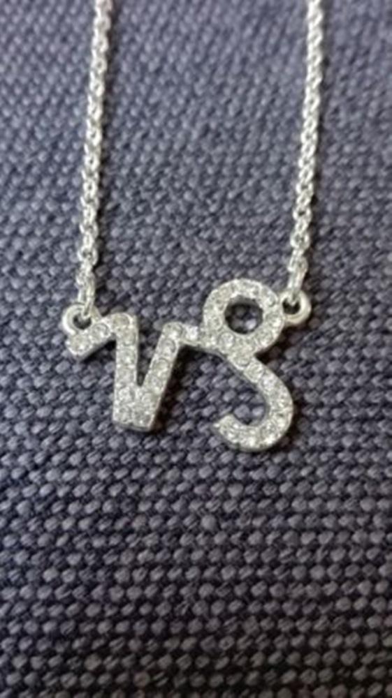 Łańcuszek ze znakiem zodiaku KOZIOROŻEC
