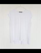 Biała bluzka top Reserved XL 42 lekka luźna na lato...
