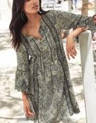 NEXT zwiewna sukienka HAFT STYL BOHO ETNO 44