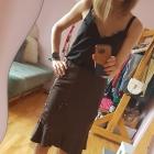 Brązowa spódnica Kokarda tiul