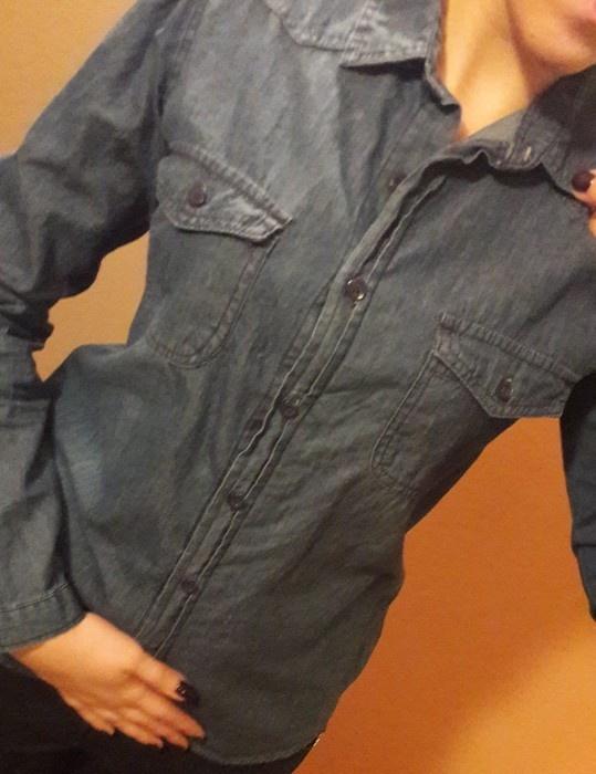 Koszula jeansowa L