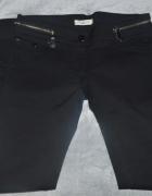 Czarne eleganckie rurki S