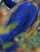 Długi sweter Terranova Granat Brokat XS S...