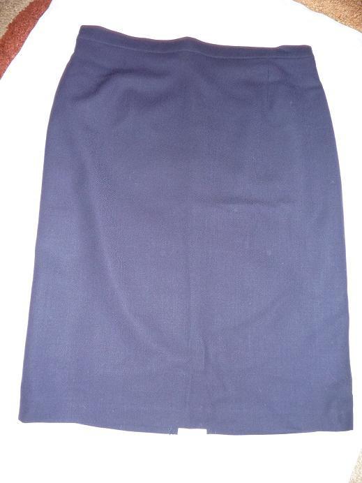 Spódnice Granatowa ołówkowa spódnica