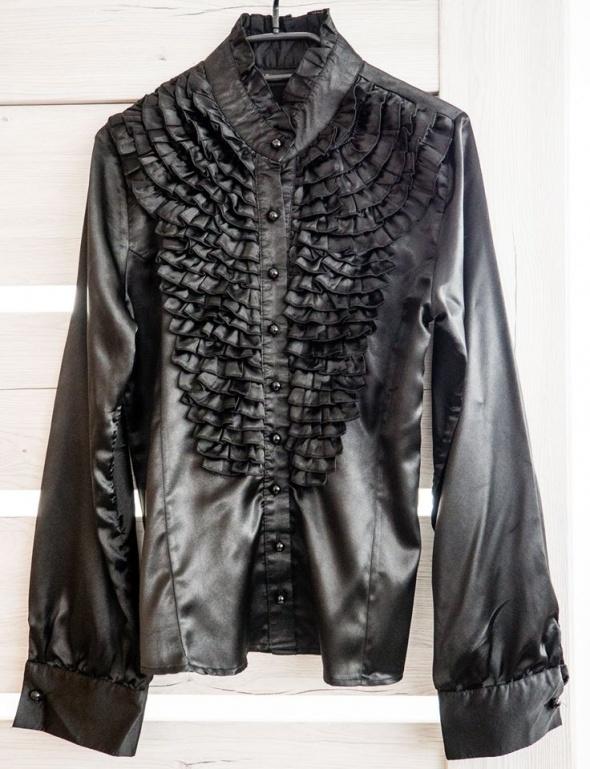 Koszule Elegancka czarna koszula