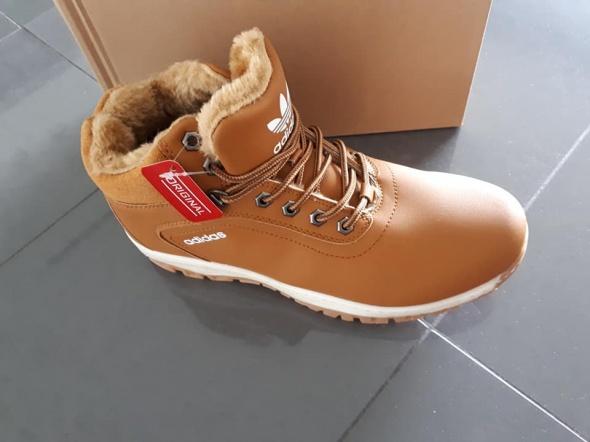 Eleganckie ciepłe i modne buty Adidas