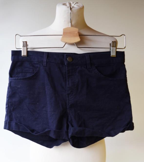 Spodenki Spodenki Krótkie Szorty Granatowe H&M S 36 Jeans