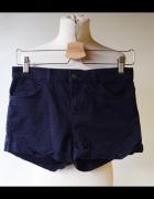 Spodenki Krótkie Szorty Granatowe H&M S 36 Jeans...