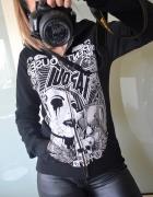 Tapout czarna bluza z nadrukiem M...