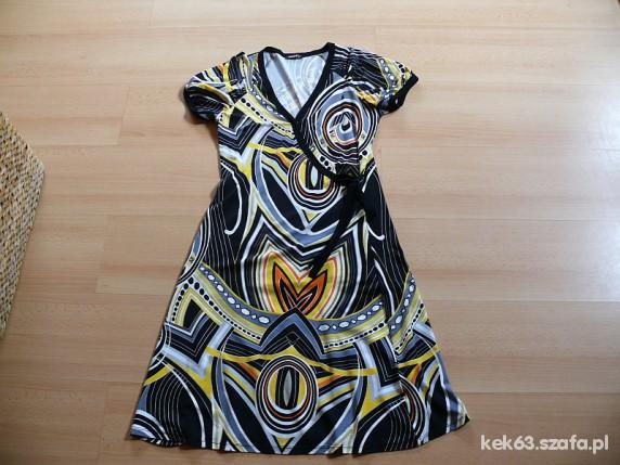 Suknie i sukienki Okazja modna sukienka na lato 36 38