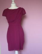 Śliczna fioletowa sukienka RIVER ISLAND...