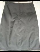 Spódnica ołówkowa czarna midi