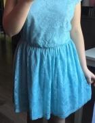 sukienka koronkowa...