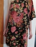 Sukienka w kwiaty na jedno ramię S Vero Moda...