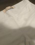 legginsy jeansowe jasne...