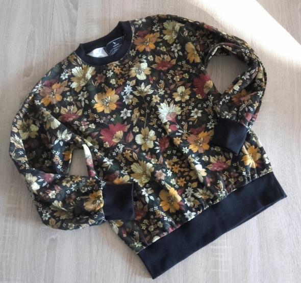 Medicine bluza floral bomberka jak nowa s...