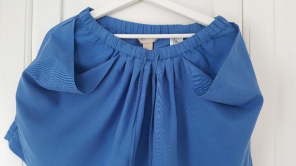 Niebieskie szorty skort kieszenie nietypowe hm 38...