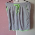 Spódniczka dresowa neon