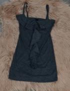 Bluzka Fresh Made z falbanką na ramiączka rozm XS S...