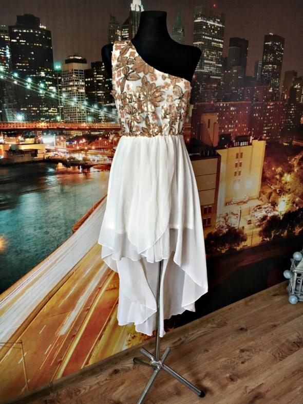 quiz sukienka cekiny mgiełka balowa studniówka wesele 40