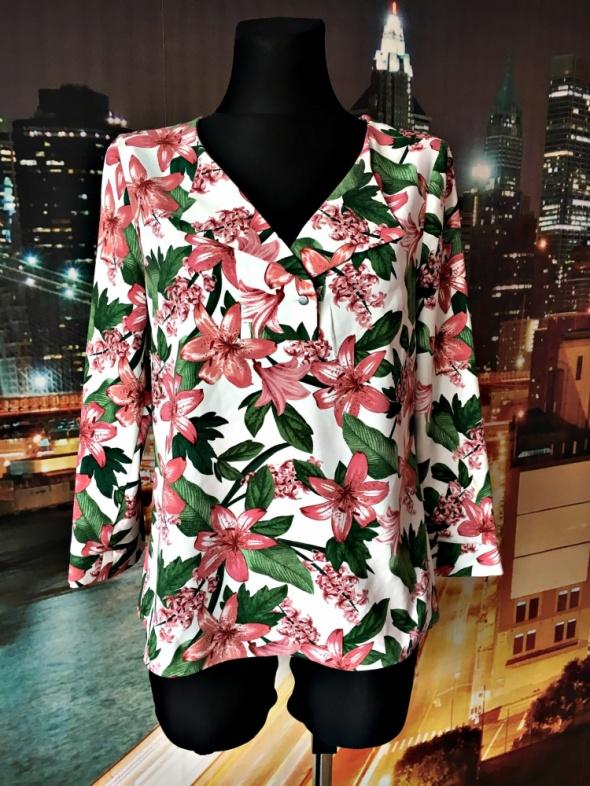 tu bluzka modny wzór kwiaty floral nowa hit blog 36