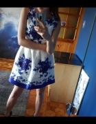 Sukienka xS kwiaty...
