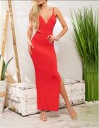 Czerwona sukienka Love Saints XXS