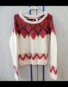 Sweter we wzory H&M...