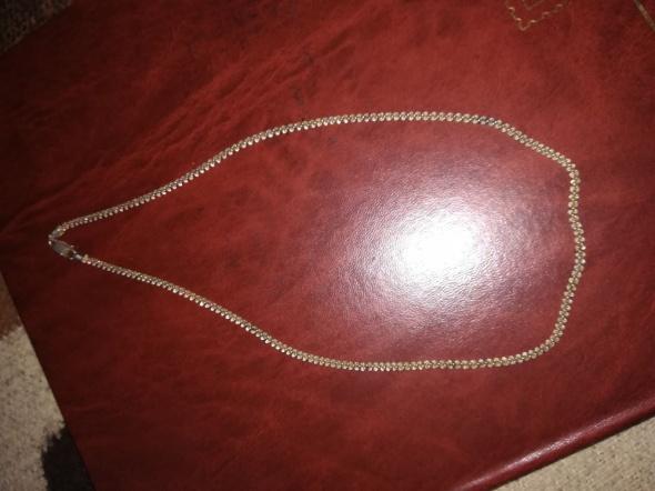 Przepiękny srebrny łańcuszek 925