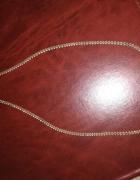 Przepiękny srebrny łańcuszek 925...