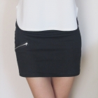 czarna mini spódnica