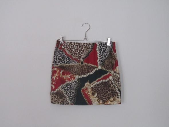 Spódnice spódnica ołówkowa ogniwa panterka