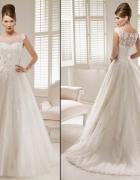 Suknia ślubna Ronald Joyce Patience rozmiar 36 biała...
