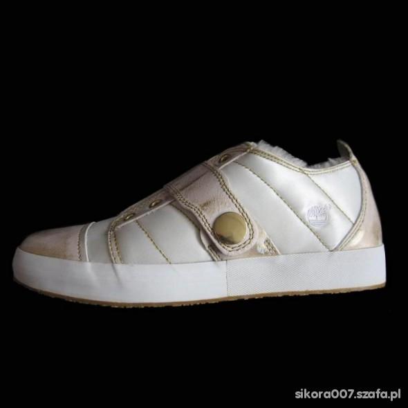 Timberland Białe Kremowe Adidasy 39...