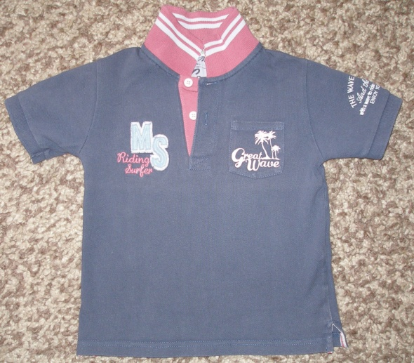MAYORAL bluzka polo roz 98