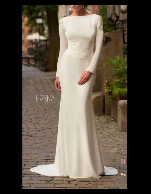 Suknia ślubna Secret Angel by Magdalena Prokop Elghoriny model Hasna 2017