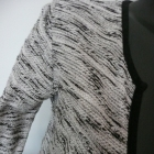 żakiet narzutka sweterek cienki melanż