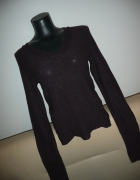 fioletowy sweterek bluzka...