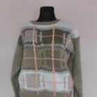 C&A beżowy sweter wzory 40 42