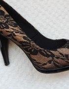 Nowe buty wieczorowekoronkaR405