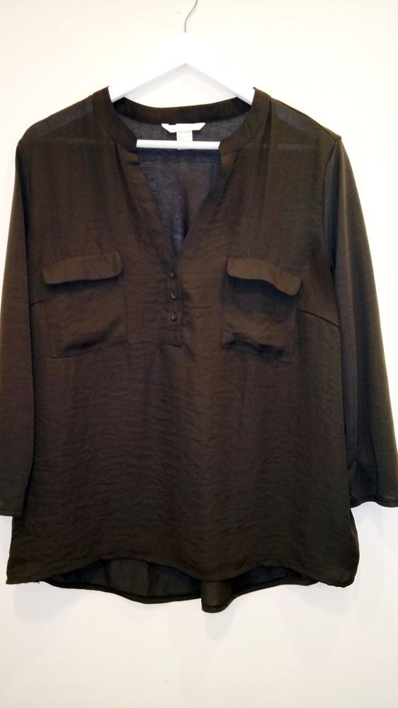 bluzka khaki H&M L 44